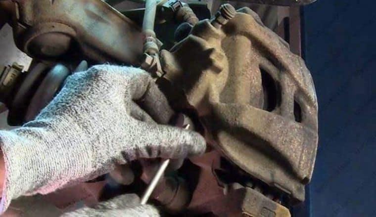 Замена колодок для Volkswagen Tiguan