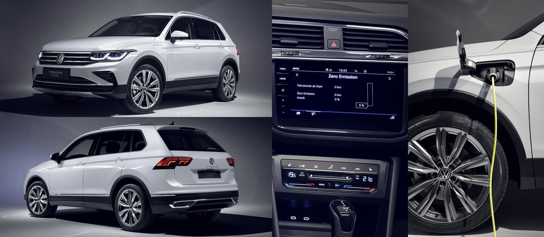VW Tiguan 2021 гибрид