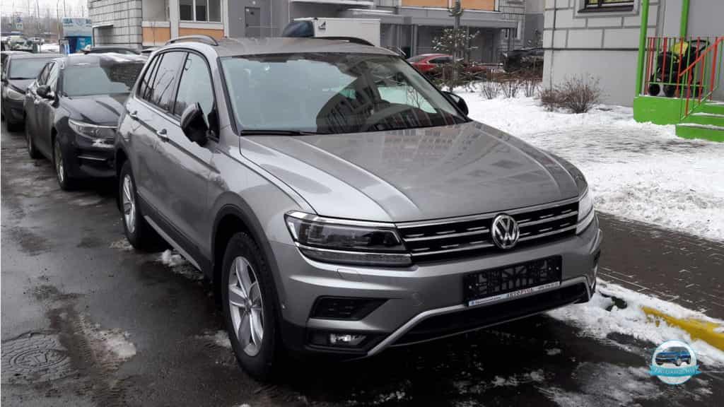 Volkswagen tiguan offroad 2018