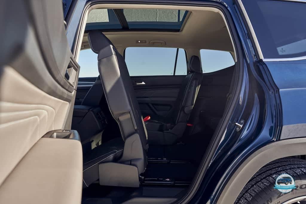 Volkswagen Teramont 2021 салон