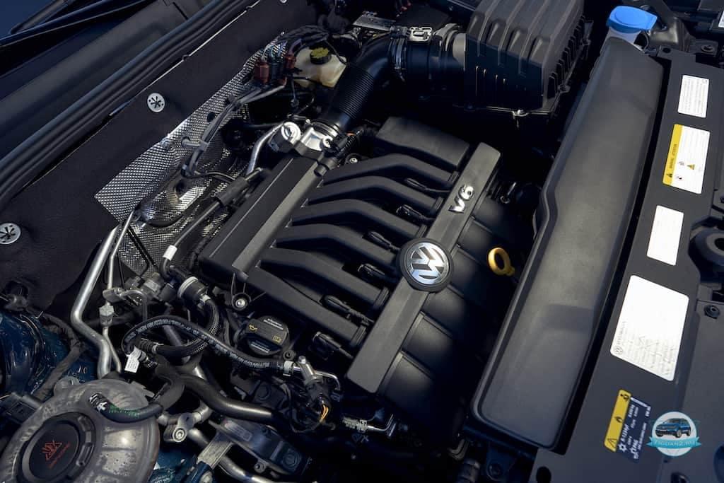 Volkswagen Teramont 2021  дигатель
