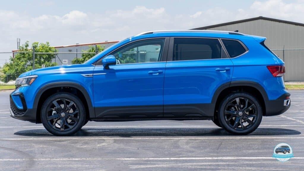 Размеры Volkswagen Taos