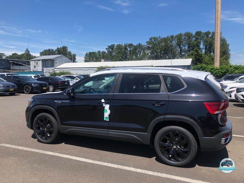 Volkswagen Taos в Америке